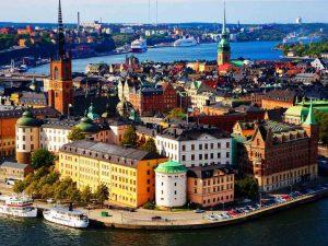 Таллинн — Стокгольм — Хельсинки — Дроттнингхольм — Рига