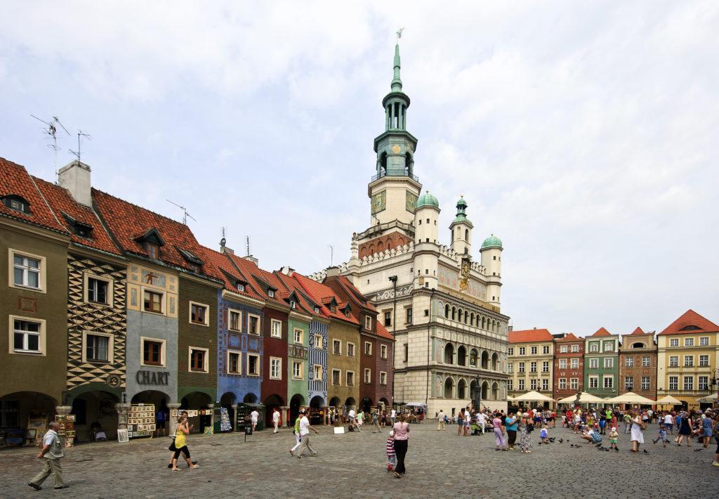 Жемчужины польских городов